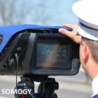 Somogy Megyei Rendőr-főkapitányság tervezett sebességmérések