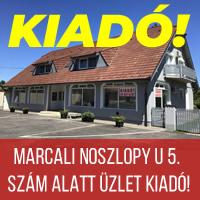 Marcali ingatlan - Kiadó üzlet